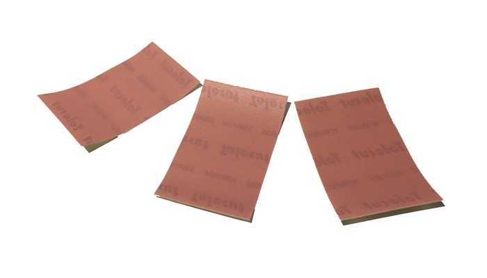 LIGHT CUT GRIT LATEX SELF-ADHESIVE SANDING SHEETS P2000, 3 PACK