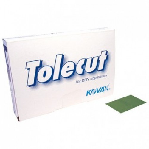 KOVAX TOLECUT GREEN P2500, 29X35MM, 25 PACK