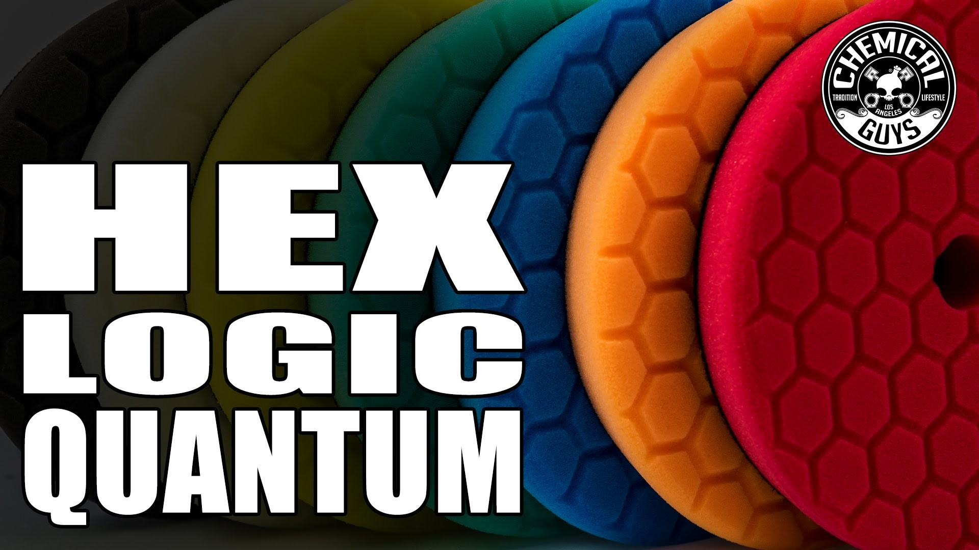 HEX LOGIC QUANTUM 5.5 INCH POLISHING PAD KIT COMPLETE (7 ITEMS)