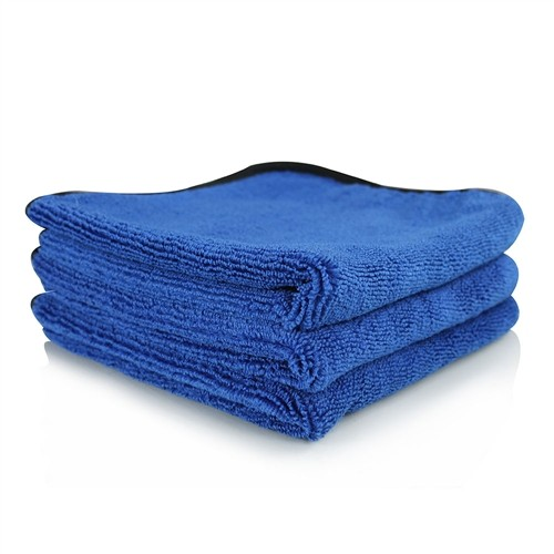 MONSTER EXTREME THICKNESS MICROFIBER TOWEL, BLUE 40CM X 40CM