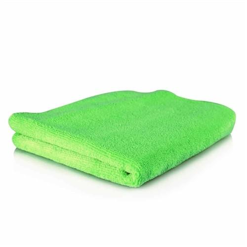 EL GORDO PROFESSIONAL EXTRA THICK SUPRA MICROFIBER TOWELS, GREEN 40CM X 40CM