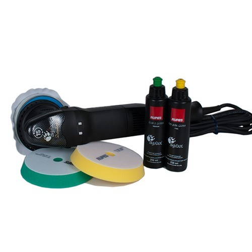 RUPES BIGFOOT 15MM - LHR15II_STD - ORBITAL POLISHER MARK II (MK2) STANDARD KIT (6 items)
