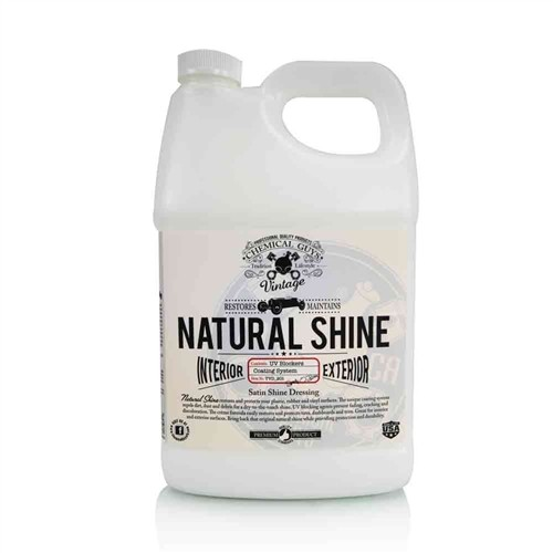 NATURAL SHINE, SATIN SHINE DRESSING GALLON