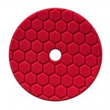 HEX-LOGIC QUANTUM ULTRA LIGHT FINISHING PAD, RED (5.5 INCH)