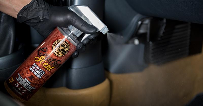 Car Odor Eliminator >> LEATHER SCENT
