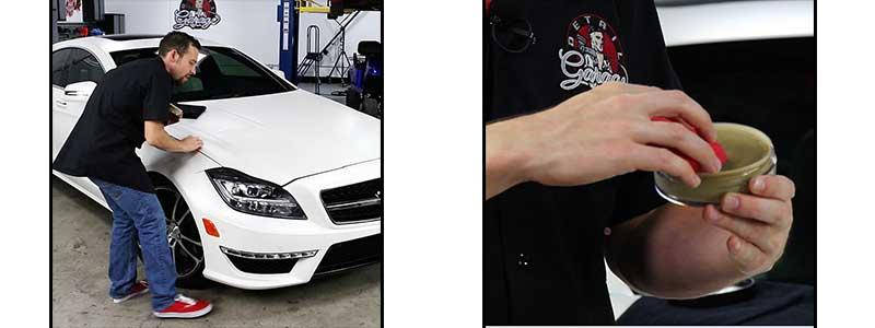 Matte Wax Paste Celeste Dettaglio Detail Your Car