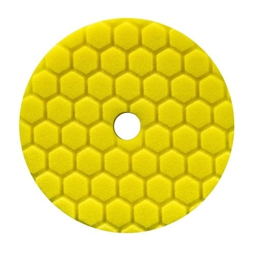 HEX-LOGIC QUANTUM HEAVY CUTTING PAD, YELLOW (5.5 INCH)