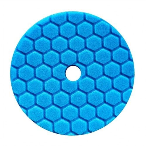HEX-LOGIC QUANTUM POLISHING/FINISHING PAD, BLUE (5.5 INCH)