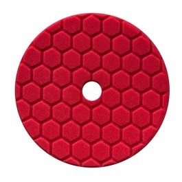HEX LOGIC QUANTUM 6,5 INCH RED FINESSE FINISHING PAD