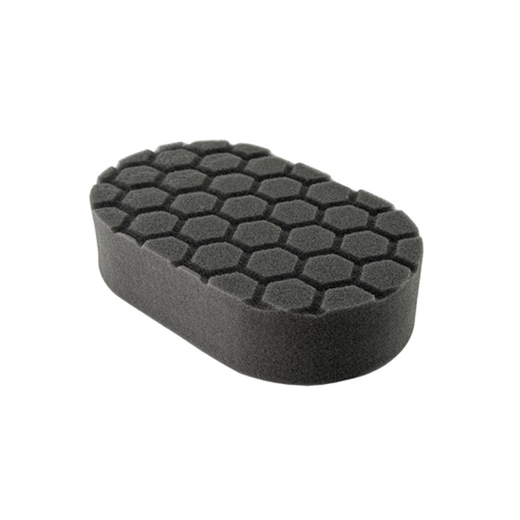 HEX-LOGIC FINISHING HAND APPLICATOR PAD, BLACK