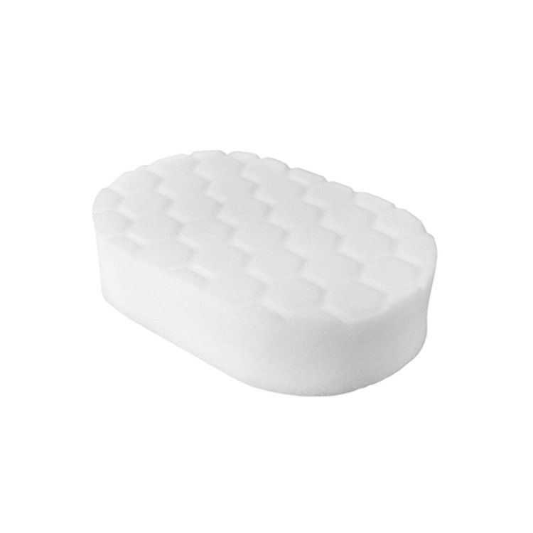 HEX-LOGIC POLISHING HAND APPLICATOR PAD, WHITE