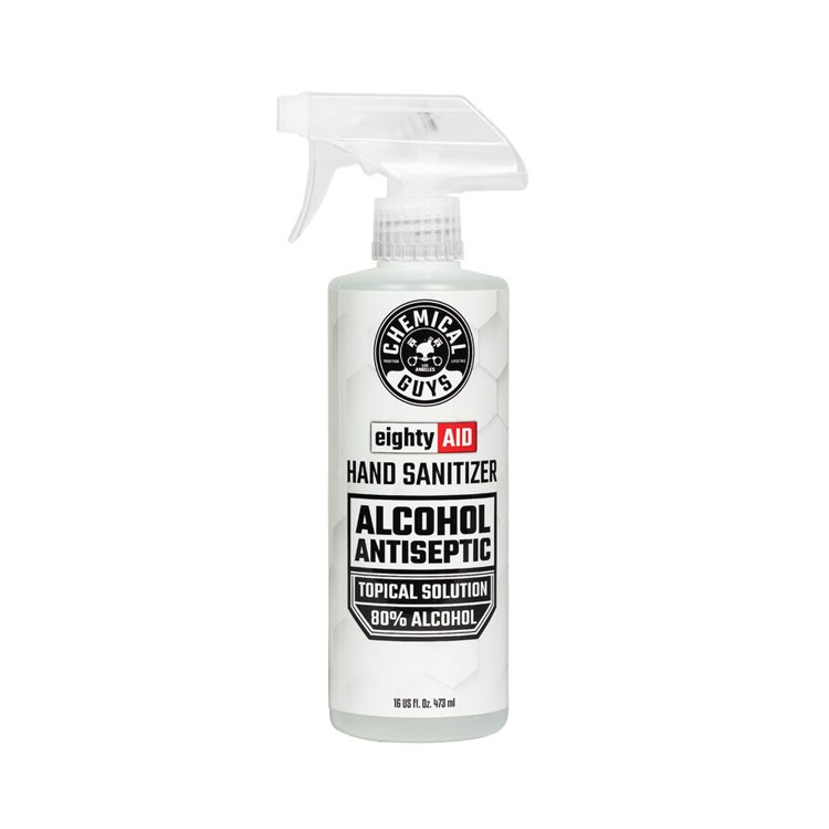 eightyAID hand sanitizer alcohol solution