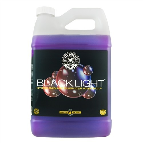BLACK LIGHT CAR WASH SOAP GALLON