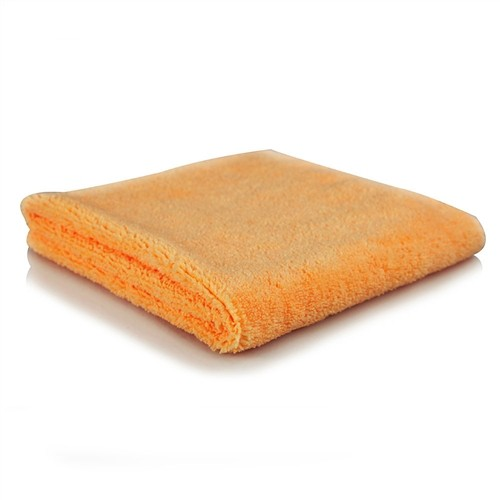 ORANGE BANGER EXTRA THICK MICROFIBER TOWEL, 40CM X 40CM