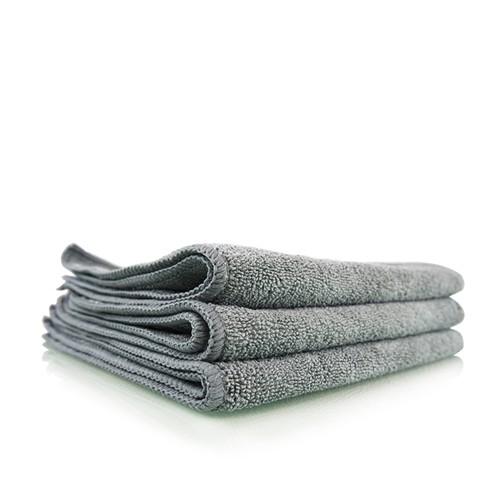 WORKHORSE GRAY PROFESSIONAL GRADE MICROFIBER TOWEL, 40CM X 40CM (METAL)