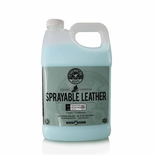 SPRAYABLE LEATHER CLEANER & CONDITIONER IN ONE GALLON