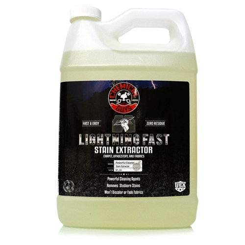 LIGHTNING FAST CARPET & UPHOLSTERY STAIN EXTRACTOR GALLON
