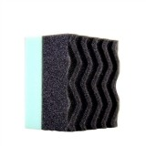 DURAFOAM CONTOURED LARGE TIRE DRESSING APPLICATOR PAD WITH WONDER WAVE TECHNOLOGY