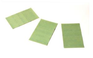 LIGHT CUT GRIT LATEX SELF-ADHESIVE SANDING SHEETS P2500, 3 PACK