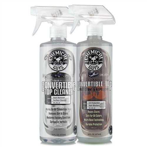 CONVERTIBLE TOP CLEANER AND CONVERTIBLE TOP PROTECTANT KIT